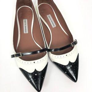 0dcf47581 Tabitha Simmons Belfy Pointy Flats Size 36.5
